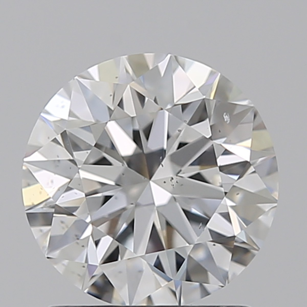 1.29 Carat Round Brilliant Diamond (D/SI1)