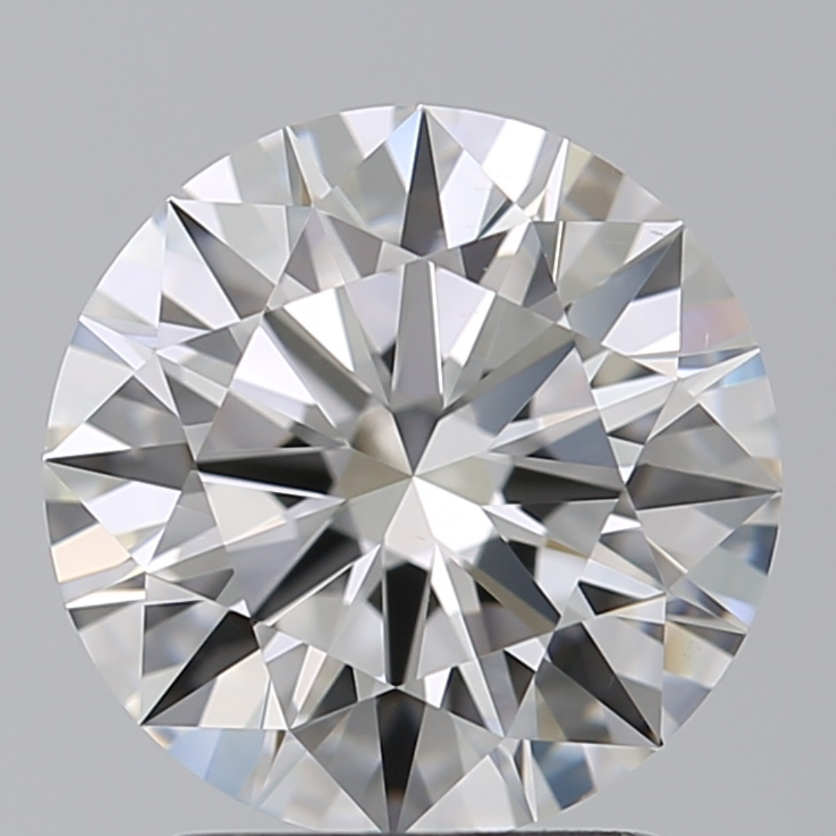 2.05 Carat Round Brilliant Diamond (D/VS2)