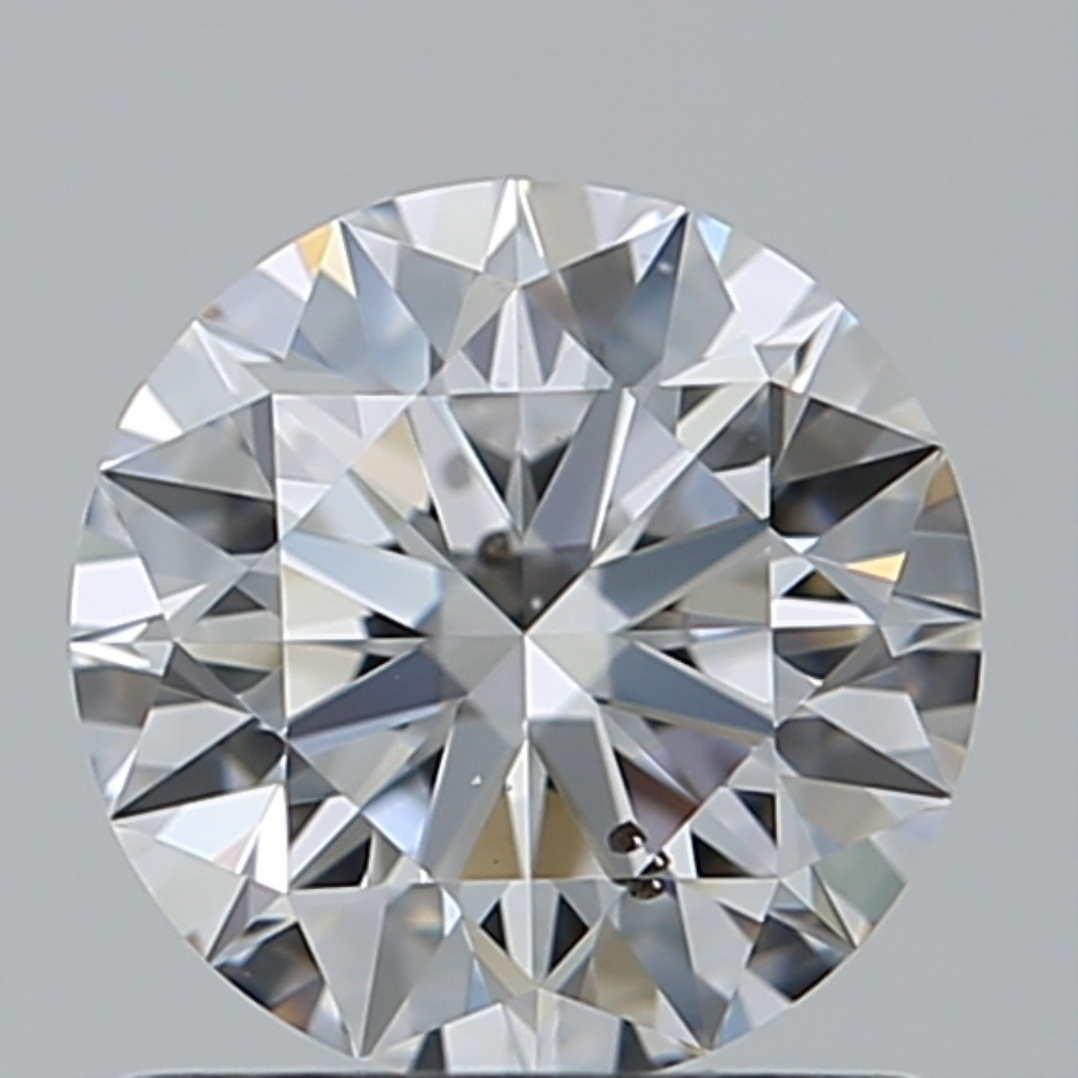 0.91 Carat Round Brilliant Diamond (D/SI1)