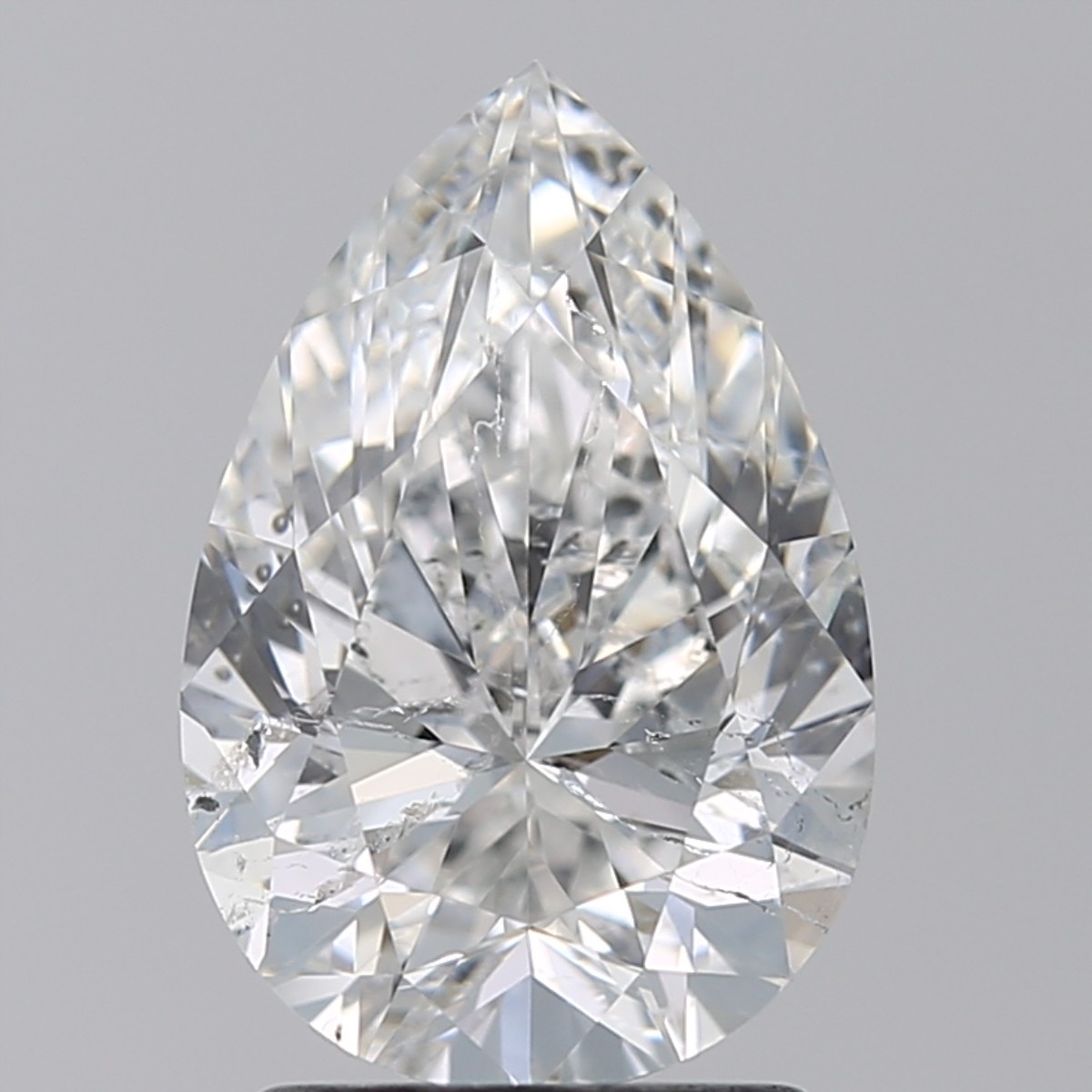 2.01 Carat Pear Diamond (F/SI2)