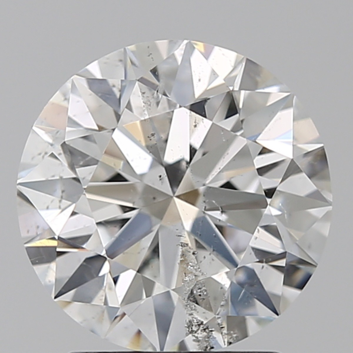 2.01 Carat Round Brilliant Diamond (E/SI2)
