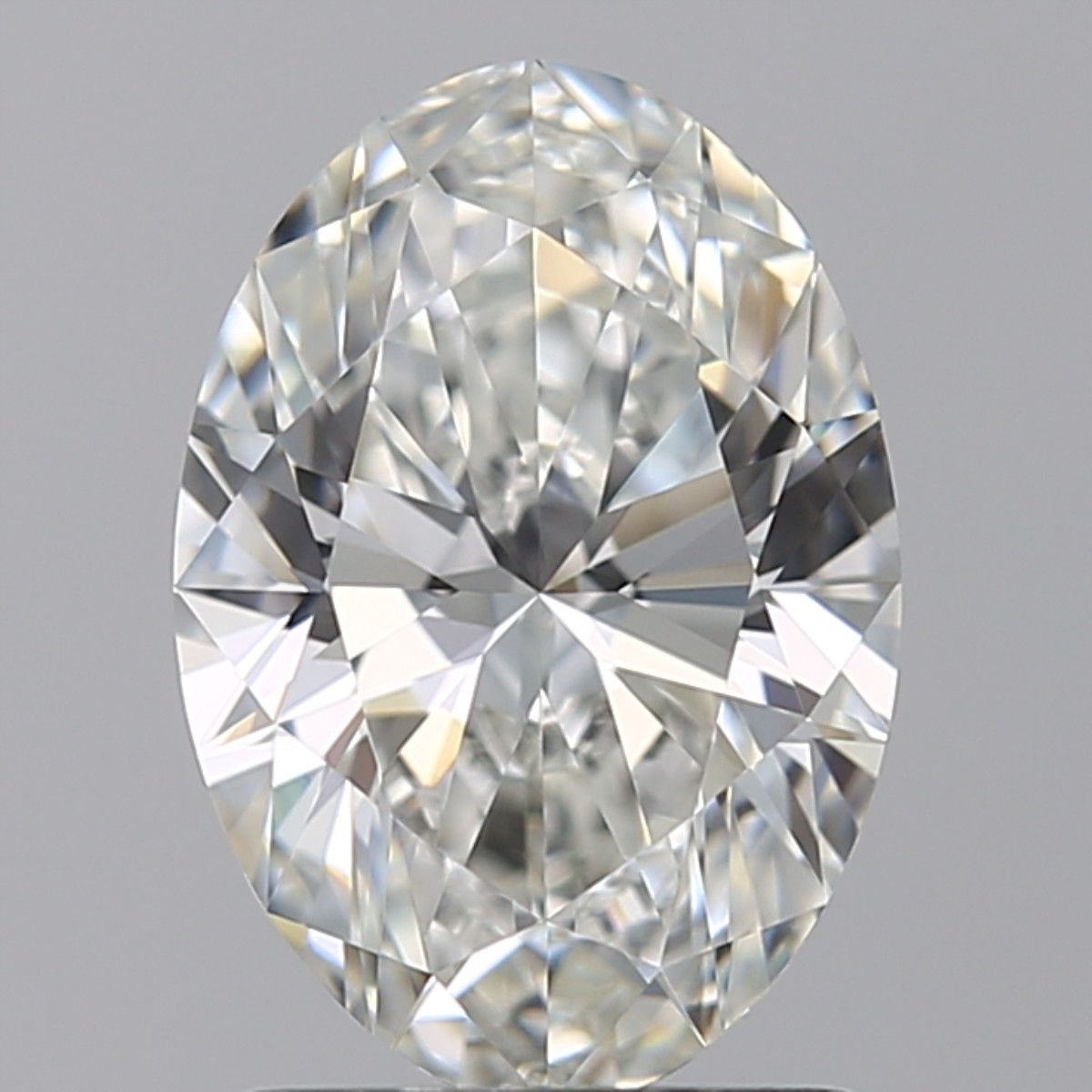 1.50 Carat Oval Diamond (H/IF)