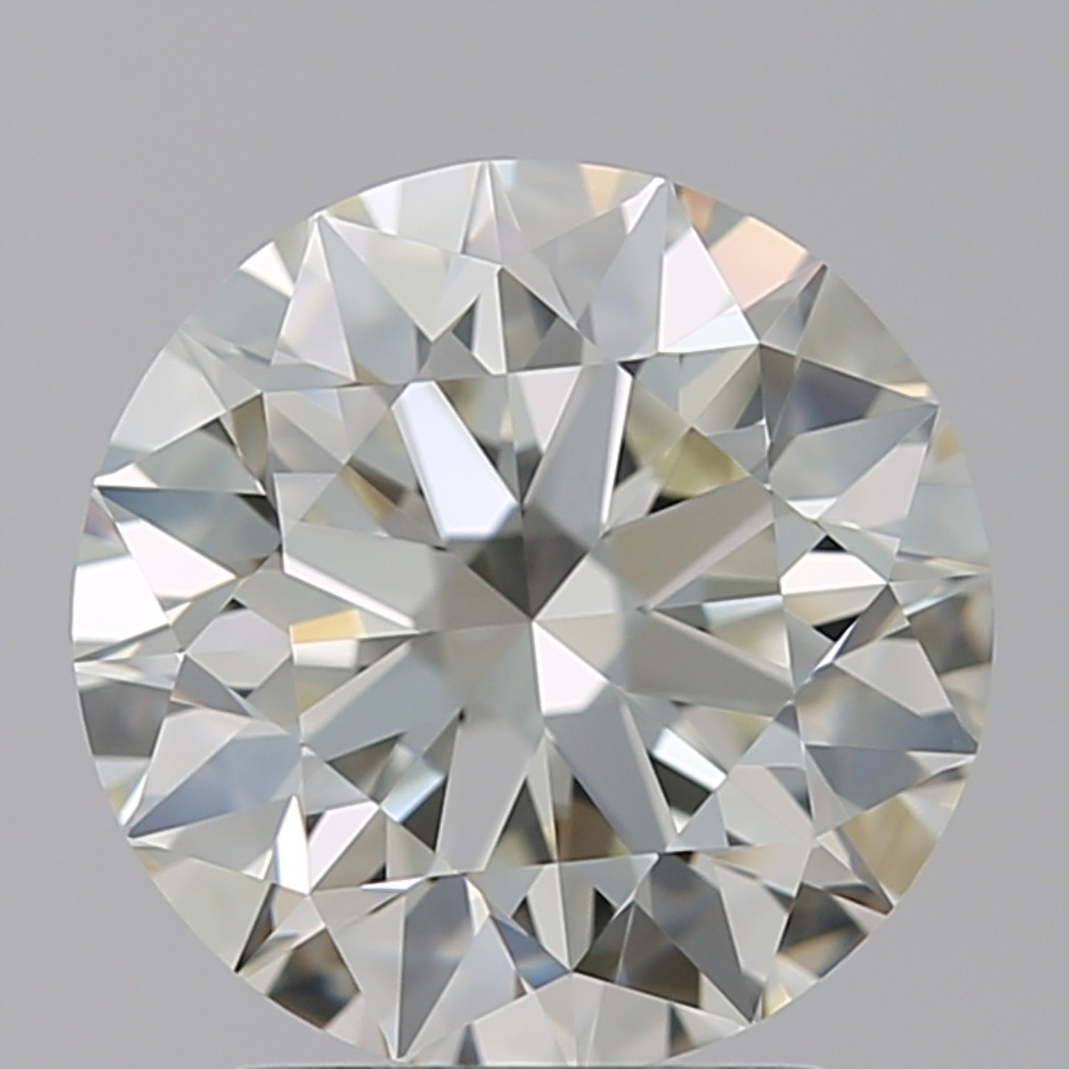 2.18 Carat Round Brilliant Diamond (J/VVS1)