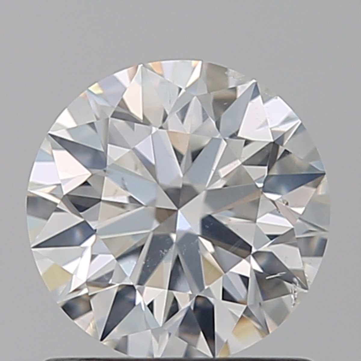 0.91 Carat Round Brilliant Diamond (F/SI1)