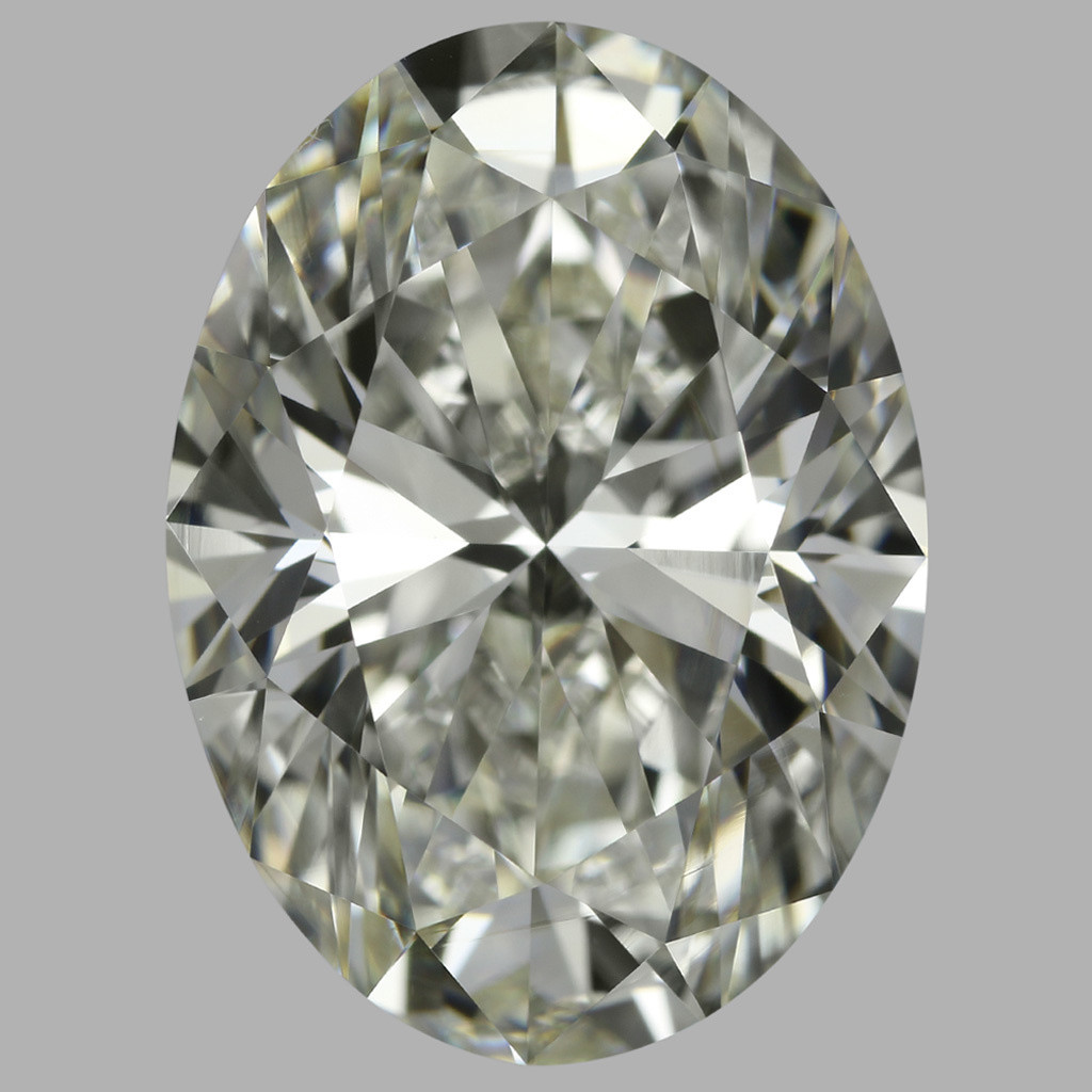 5.02 Carat Oval Diamond (J/VS1)