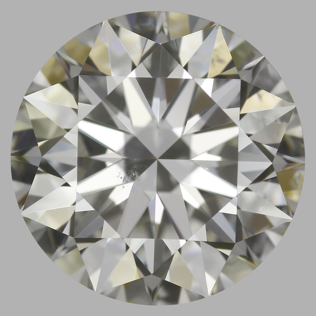 1.90 Carat Round Brilliant Diamond (J/SI1)