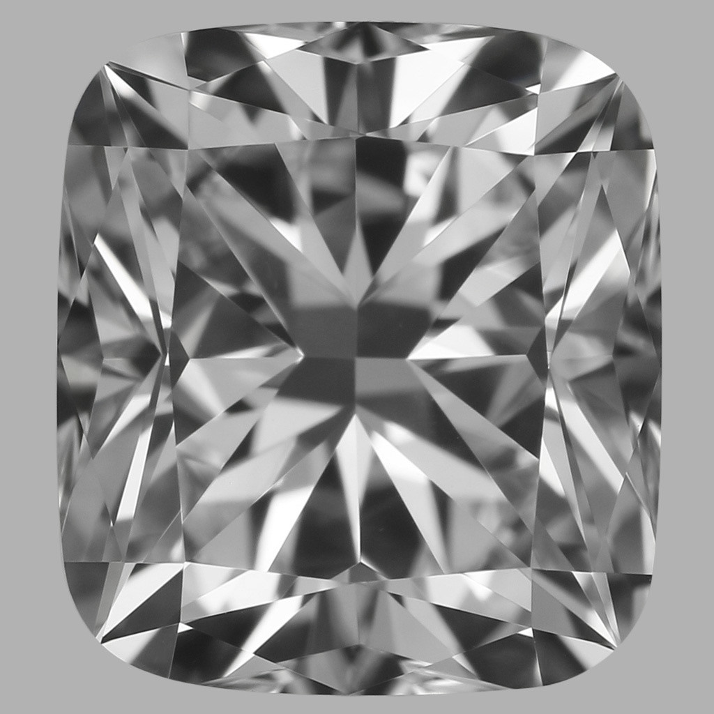 0.77 Carat Cushion Diamond (E/VVS1)