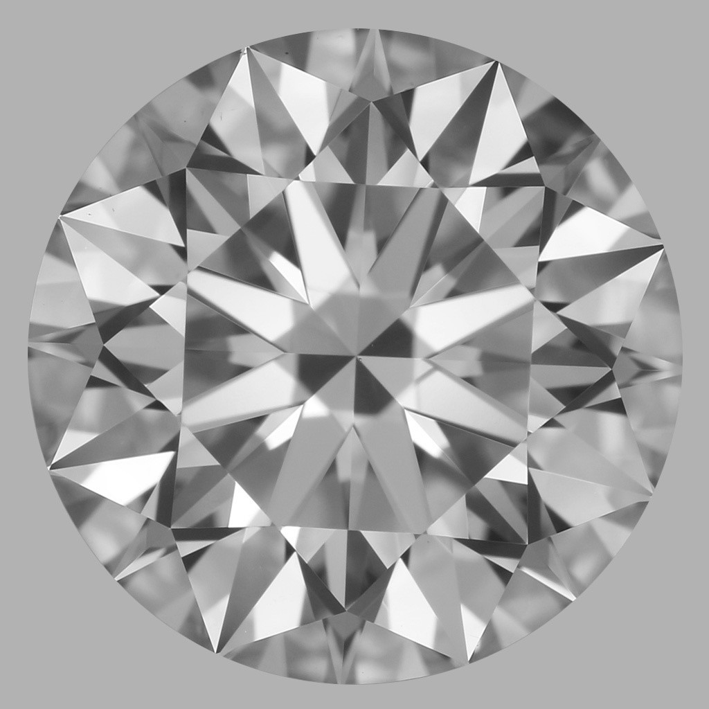 2.06 Carat Round Brilliant Diamond (D/VS1)