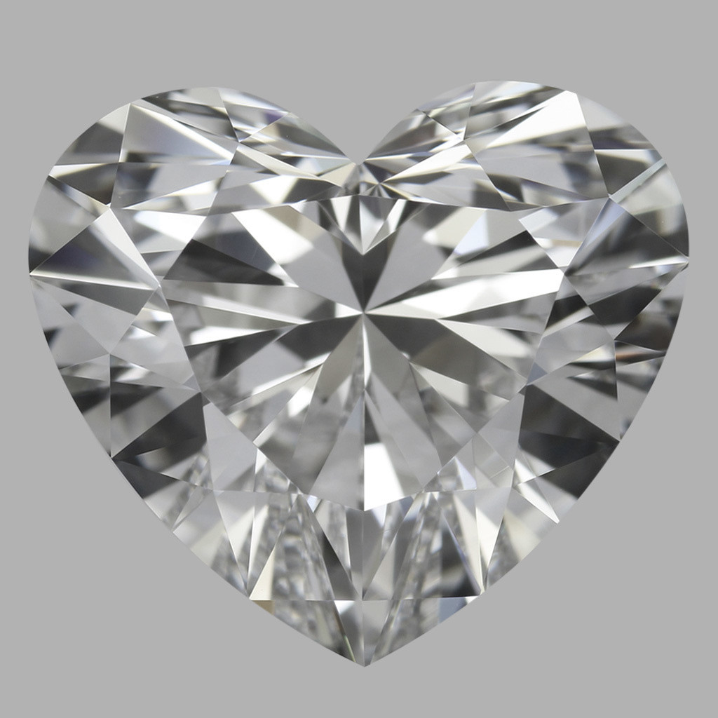 3.73 Carat Heart Diamond (D/VVS1)