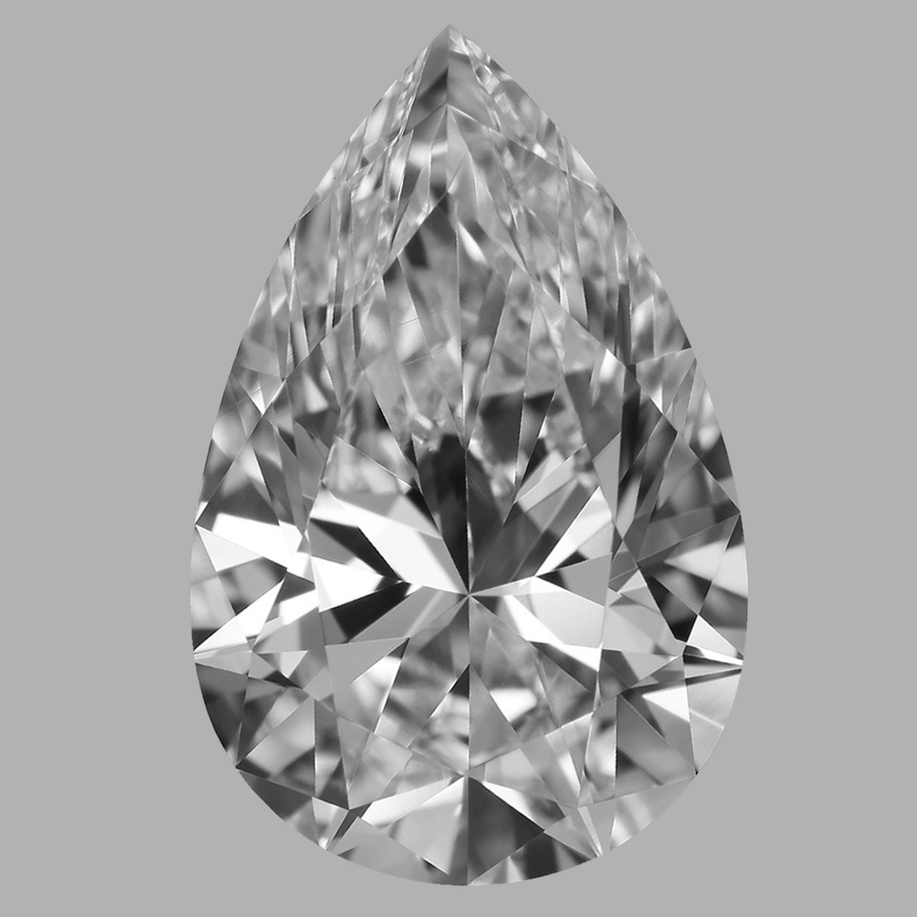 1.70 Carat Pear Diamond (D/VVS1)