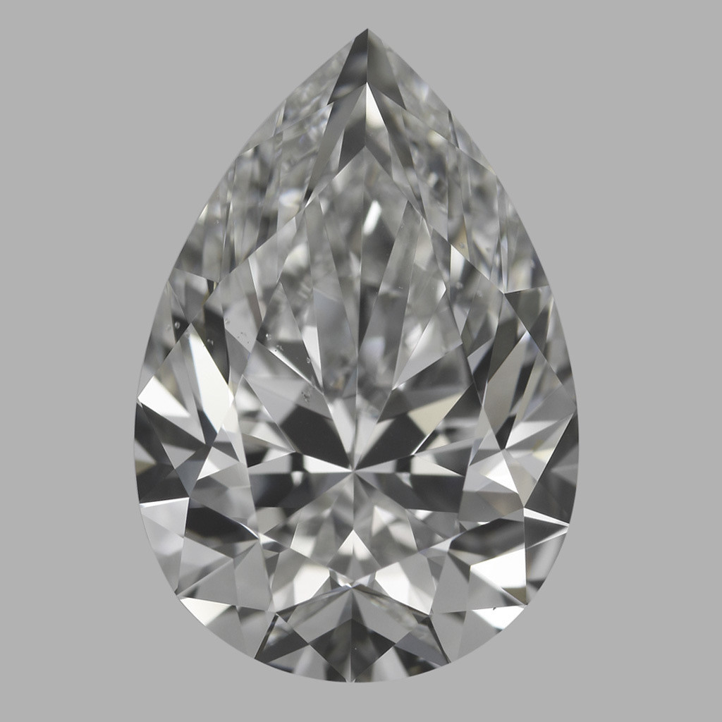 4.02 Carat Pear Diamond (G/VS2)