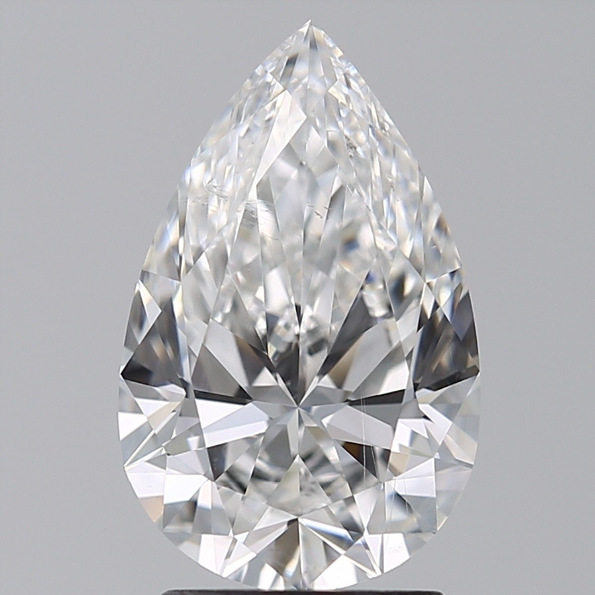 2.01 Carat Pear Diamond (E/SI1)