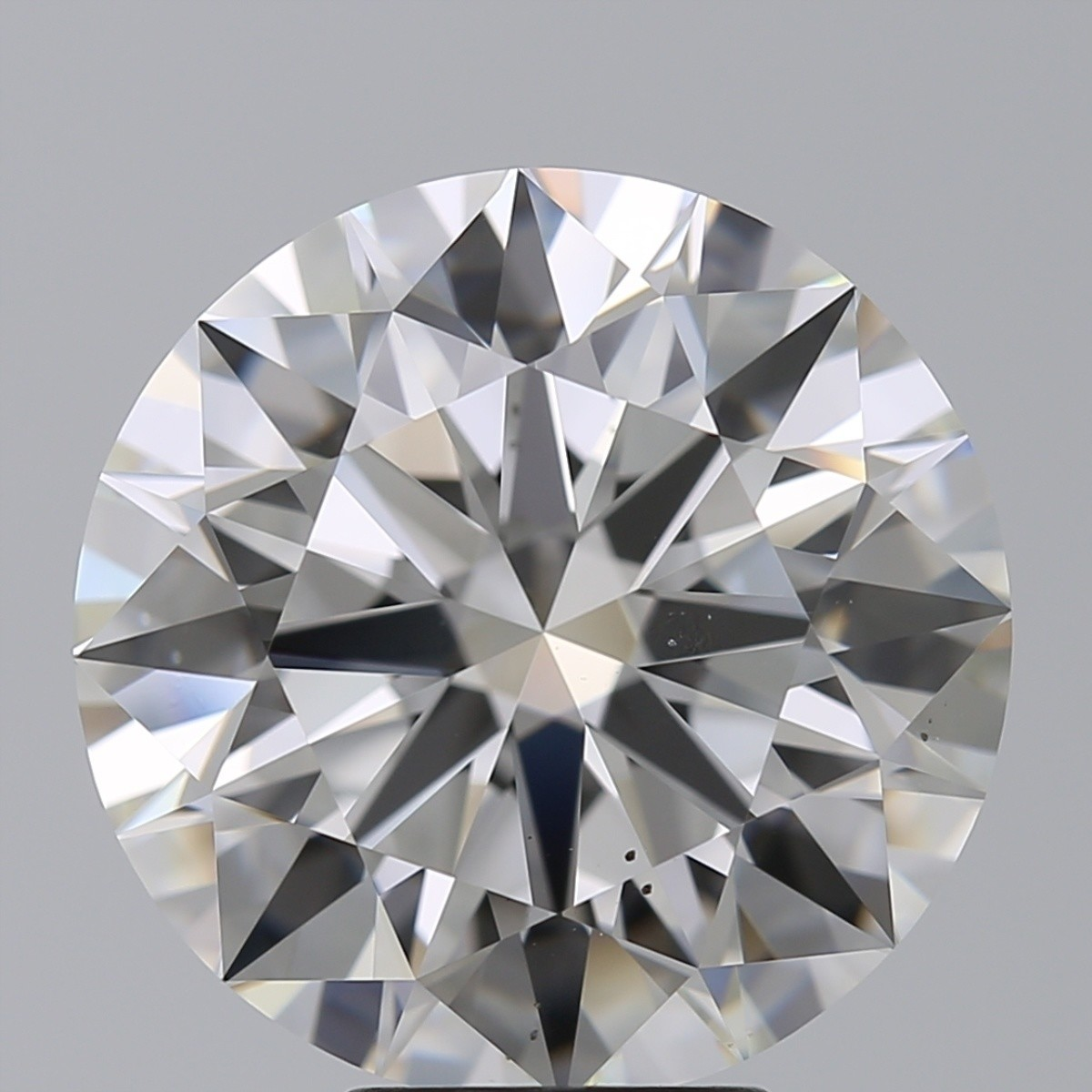 7.11 Carat Round Brilliant Diamond (F/VS2)