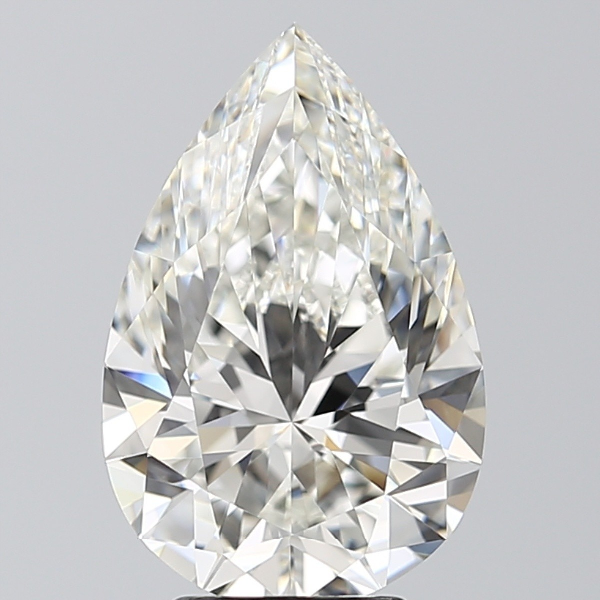 4.04 Carat Pear Diamond (H/IF)