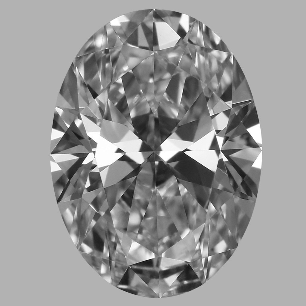 0.75 Carat Oval Diamond (D/VVS2)