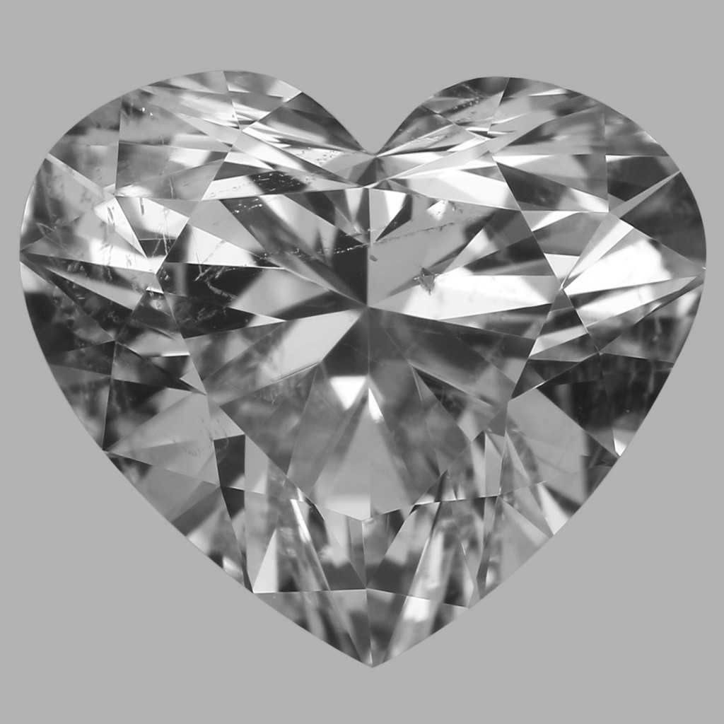 1.02 Carat Heart Diamond (F/SI2)