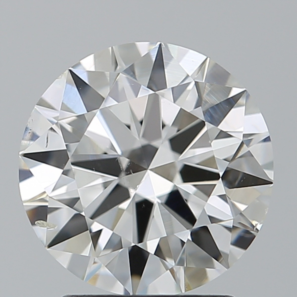 2.01 Carat Round Brilliant Diamond (G/SI1)