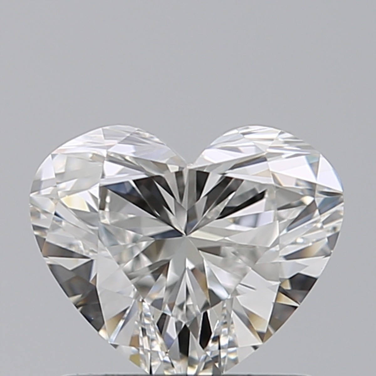 0.82 Carat Heart Diamond (F/IF)