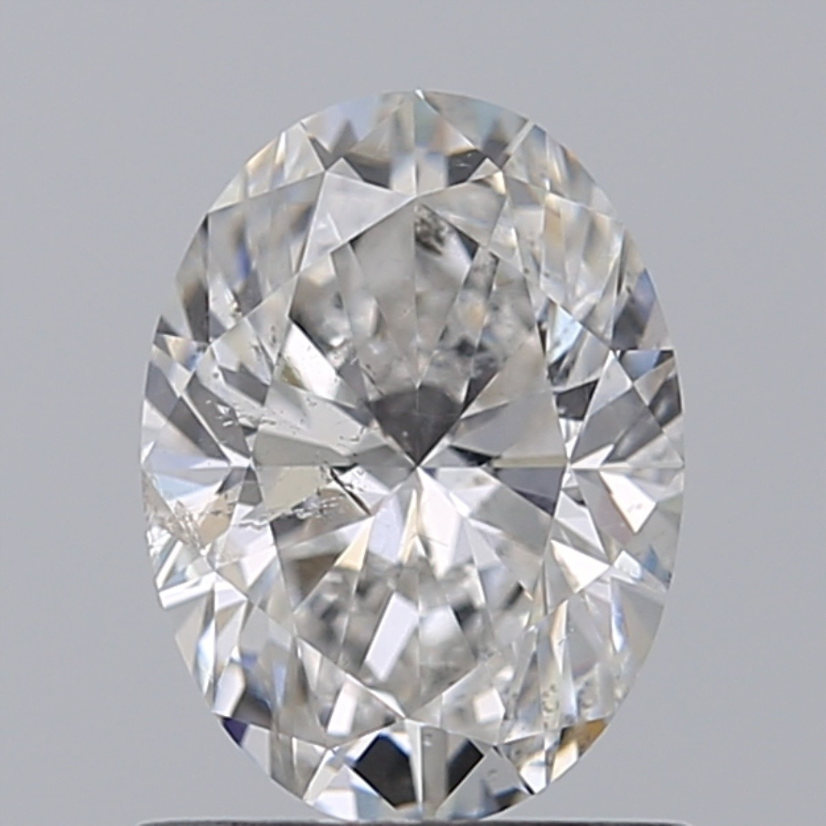 1.00 Carat Oval Diamond (F/SI2)