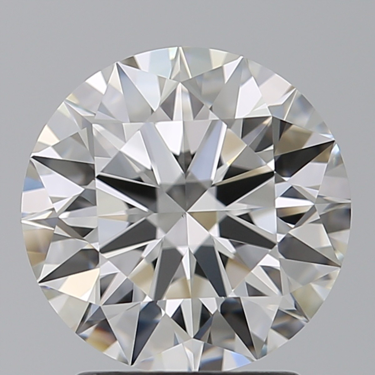 2.06 Carat Round Brilliant Diamond (F/VS1)