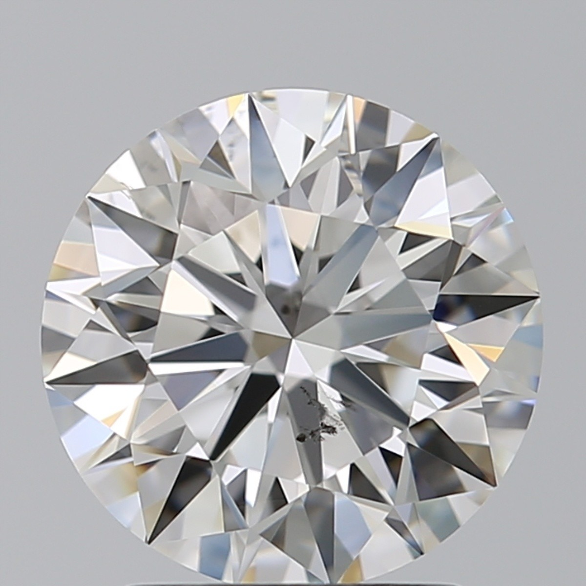 2.01 Carat Round Brilliant Diamond (F/SI1)