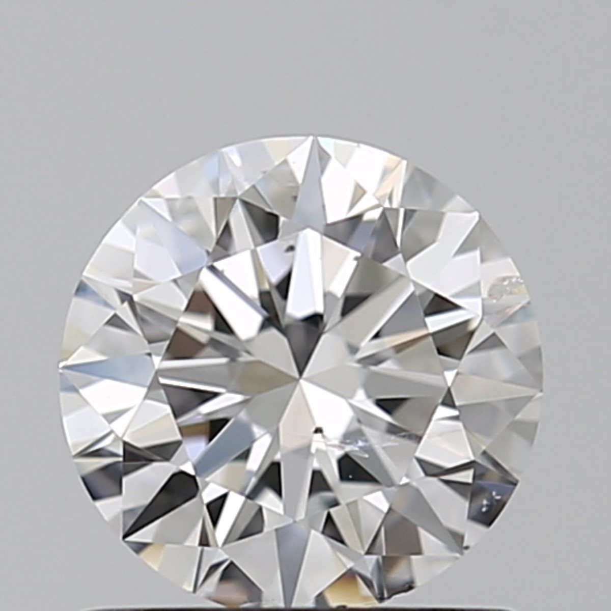 0.81 Carat Round Brilliant Diamond (D/SI2)