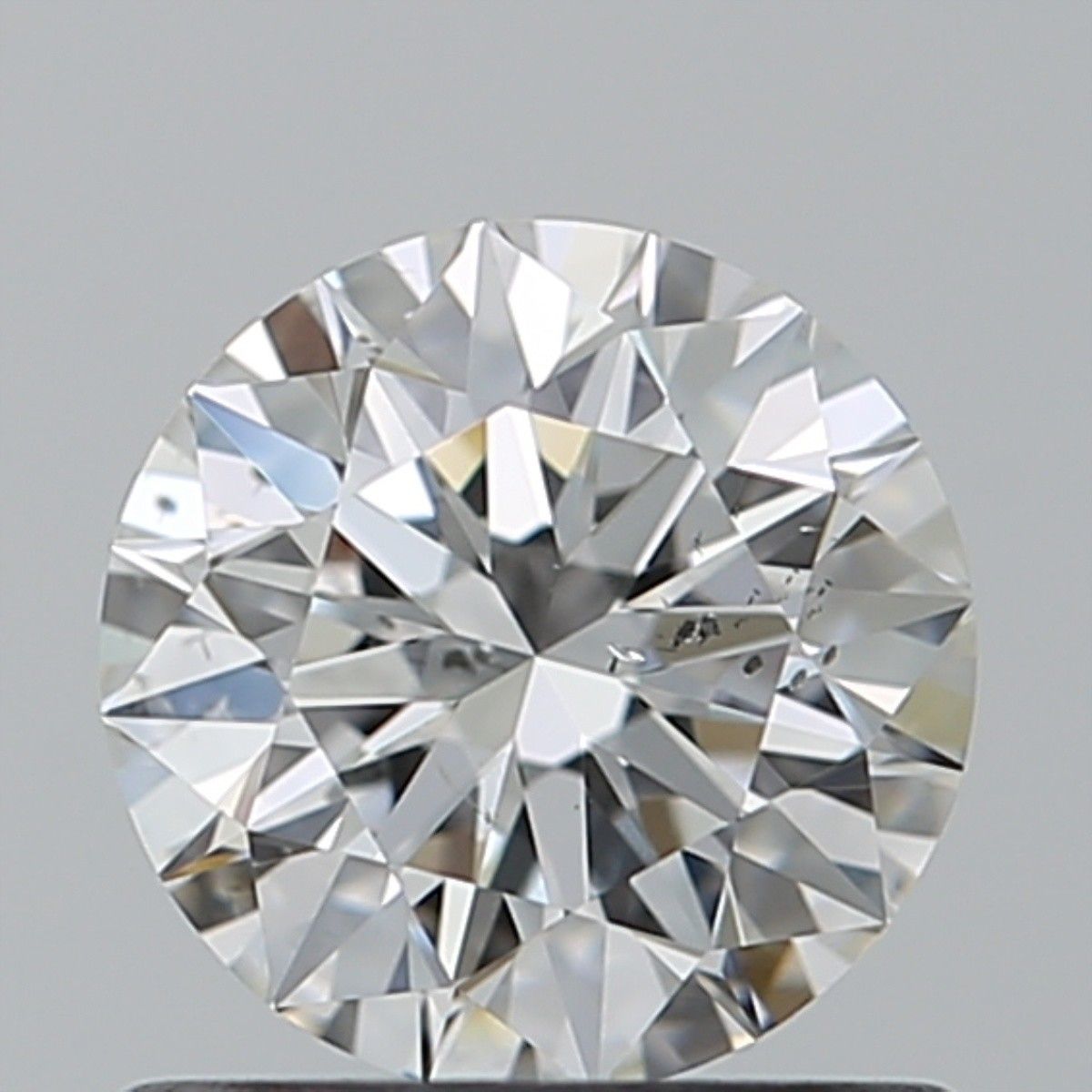 0.76 Carat Round Brilliant Diamond (F/SI2)