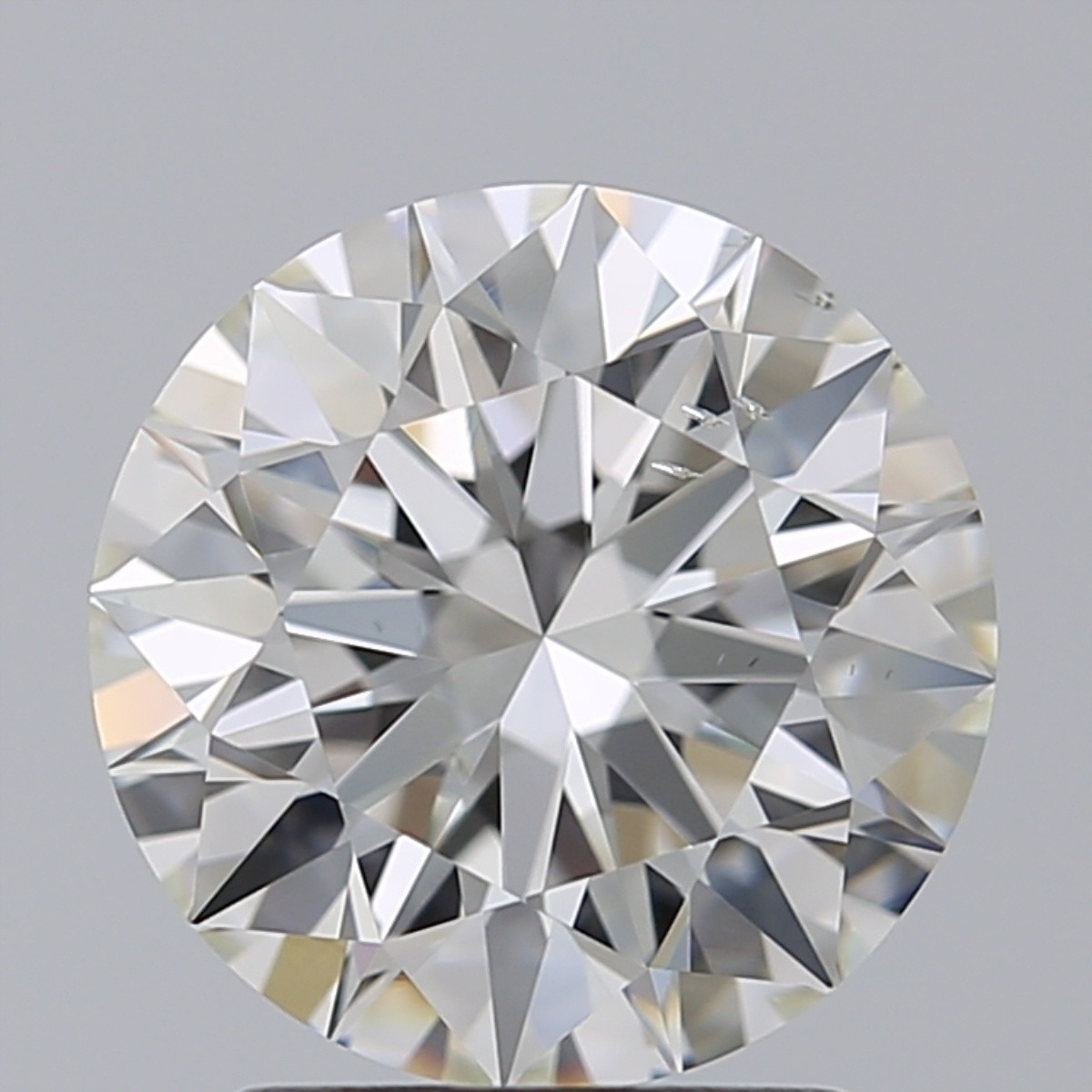 2.21 Carat Round Brilliant Diamond (H/SI1)