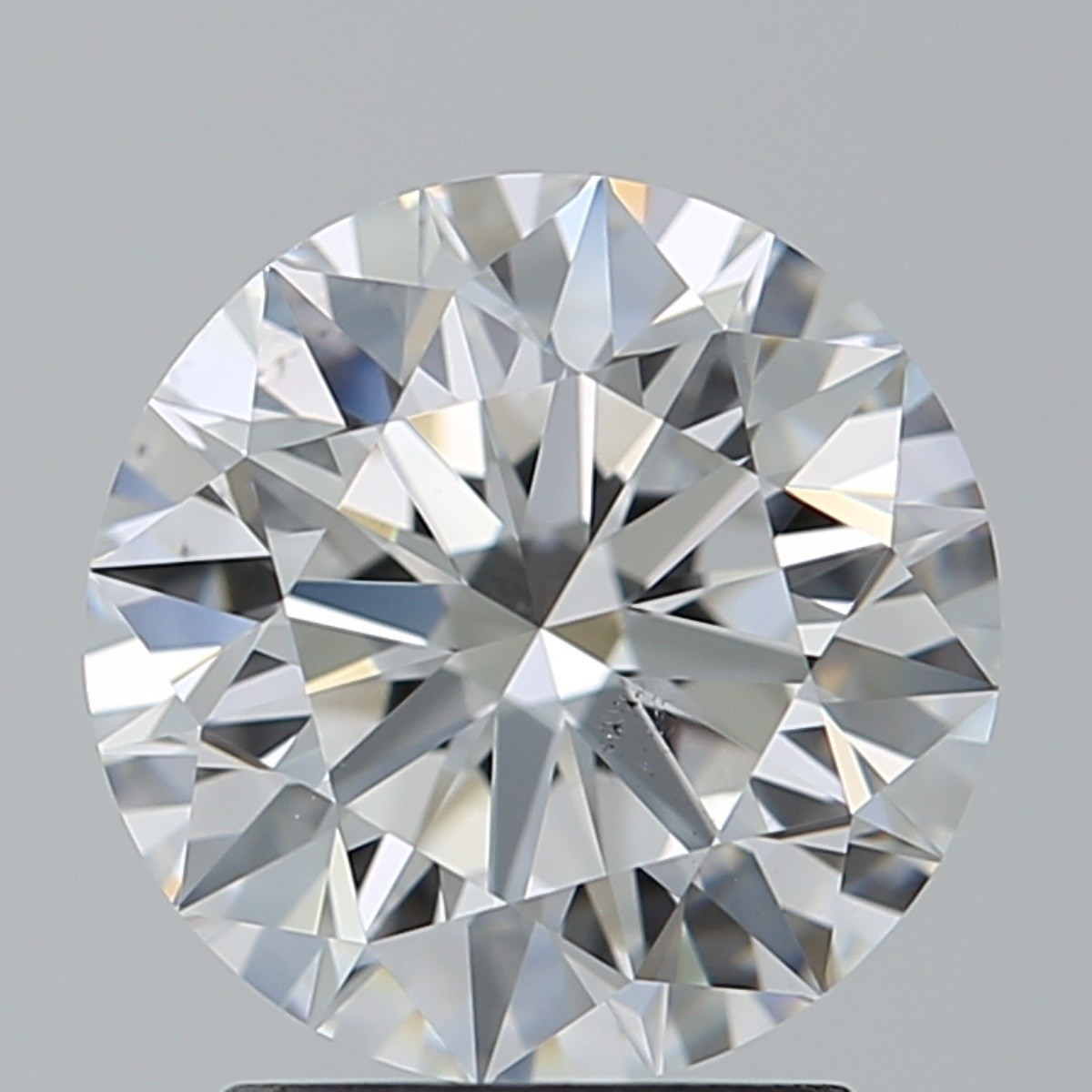 2.02 Carat Round Brilliant Diamond (D/VS2)