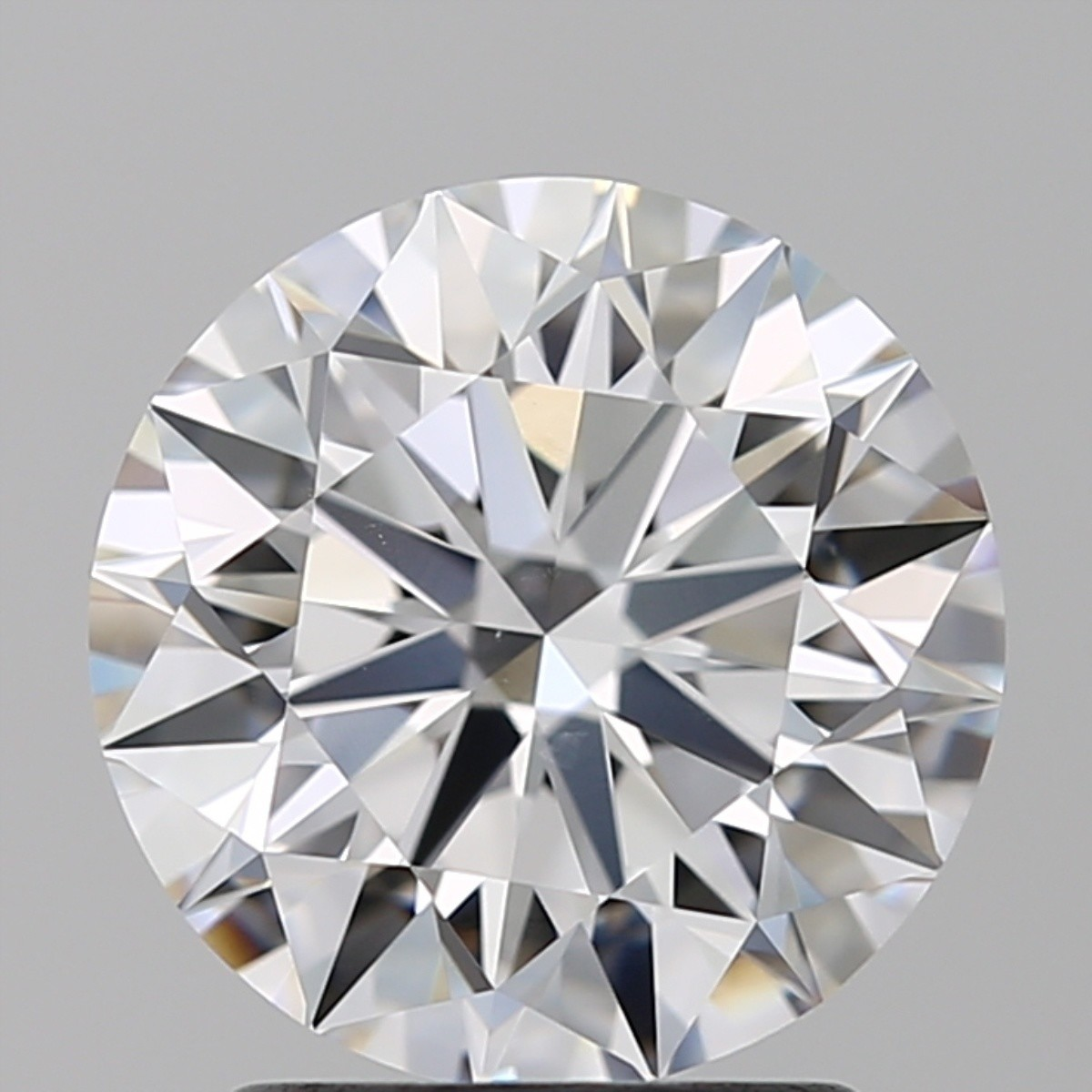 2.01 Carat Round Brilliant Diamond (D/VS2)