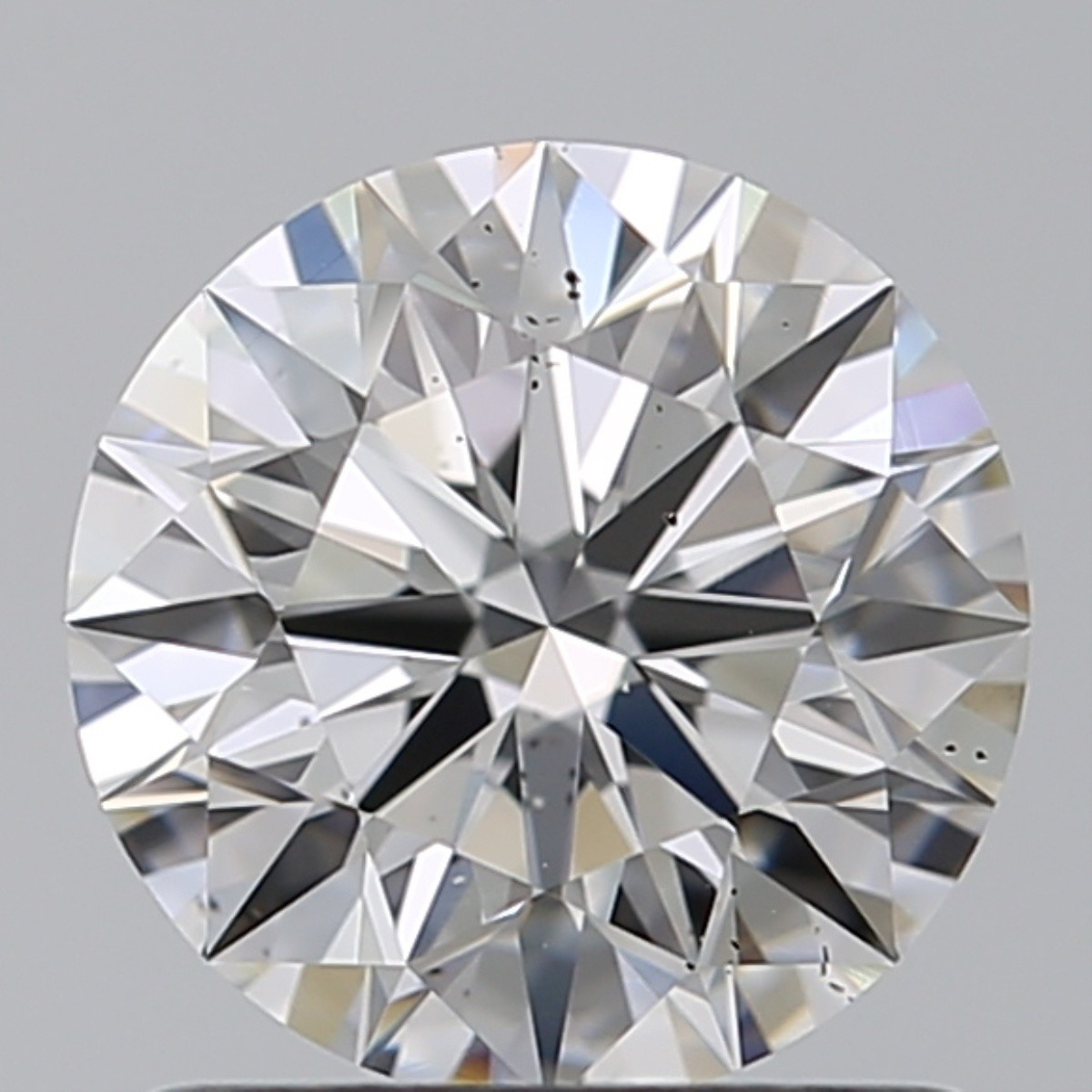 1.05 Carat Round Brilliant Diamond (D/SI1)