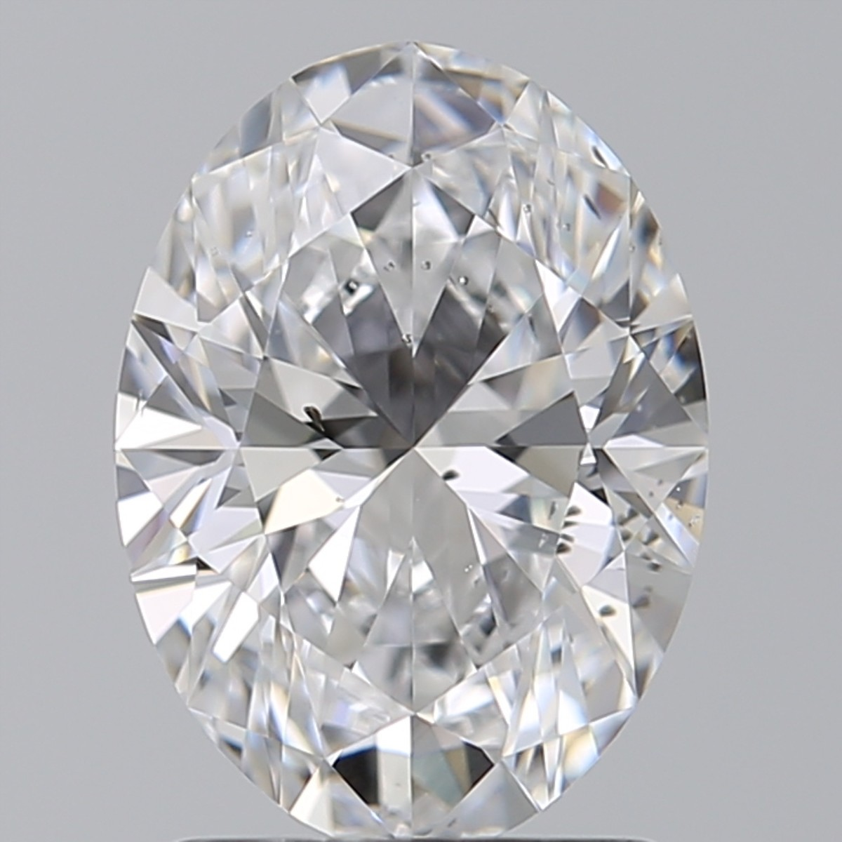 1.59 Carat Oval Diamond (D/SI1)