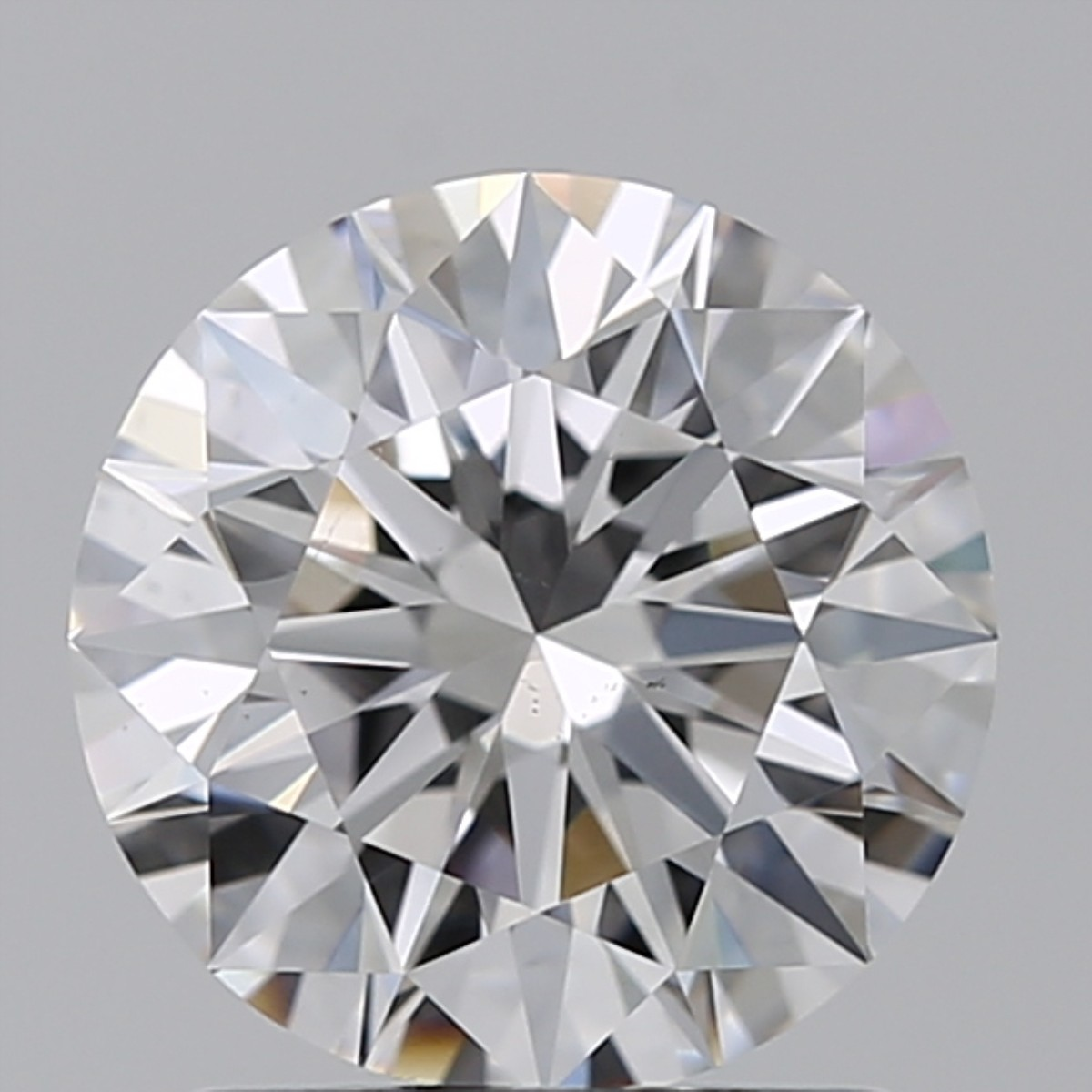 1.31 Carat Round Brilliant Diamond (D/VS2)
