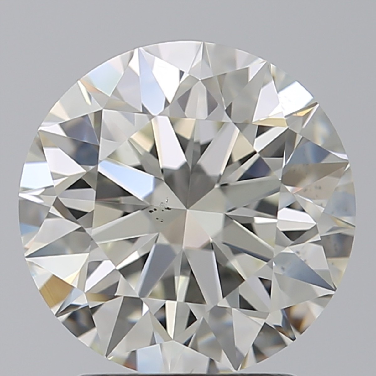2.30 Carat Round Brilliant Diamond (J/VS2)