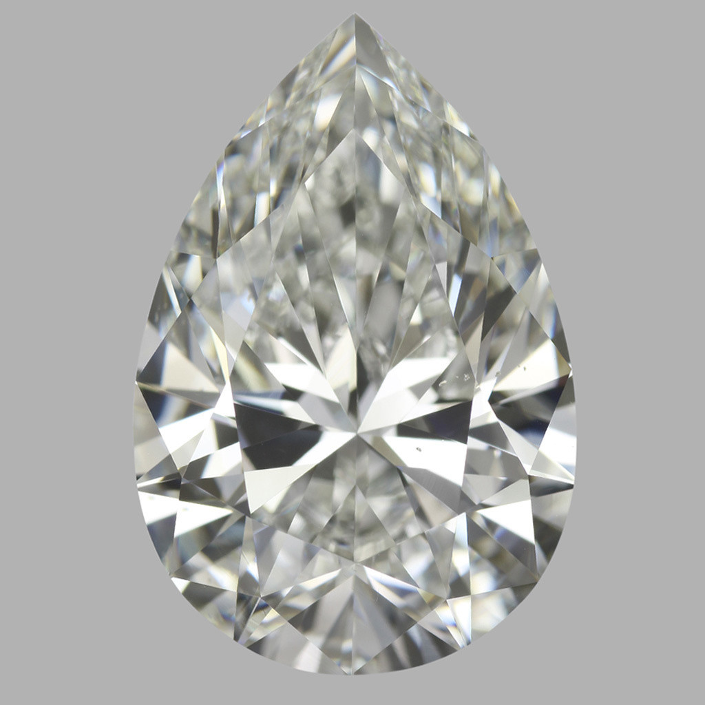 5.05 Carat Pear Diamond (I/VS2)