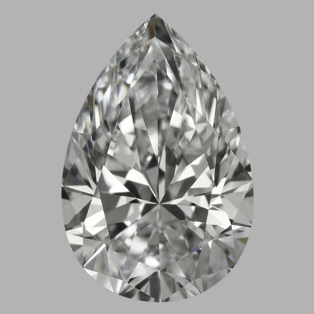 1.71 Carat Pear Diamond (E/VVS2)