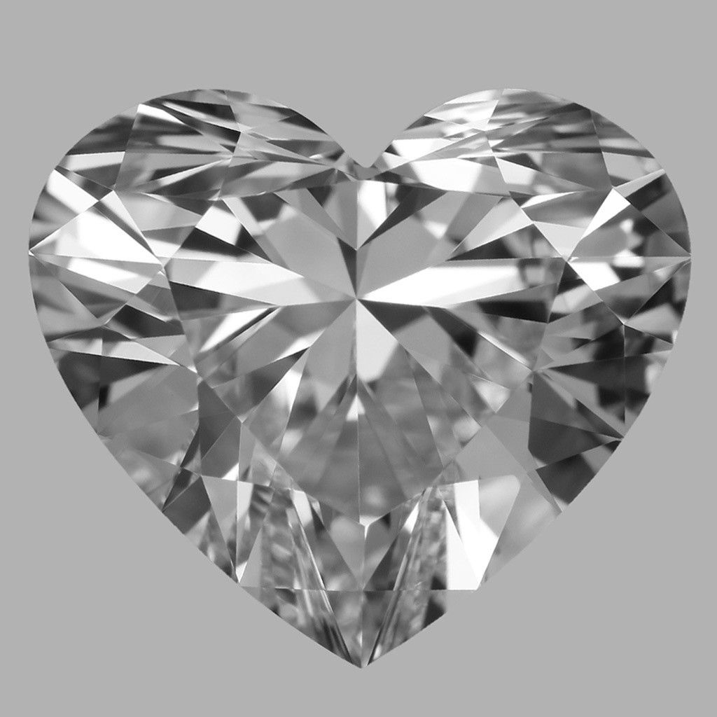 3.60 Carat Heart Diamond (D/VVS1)