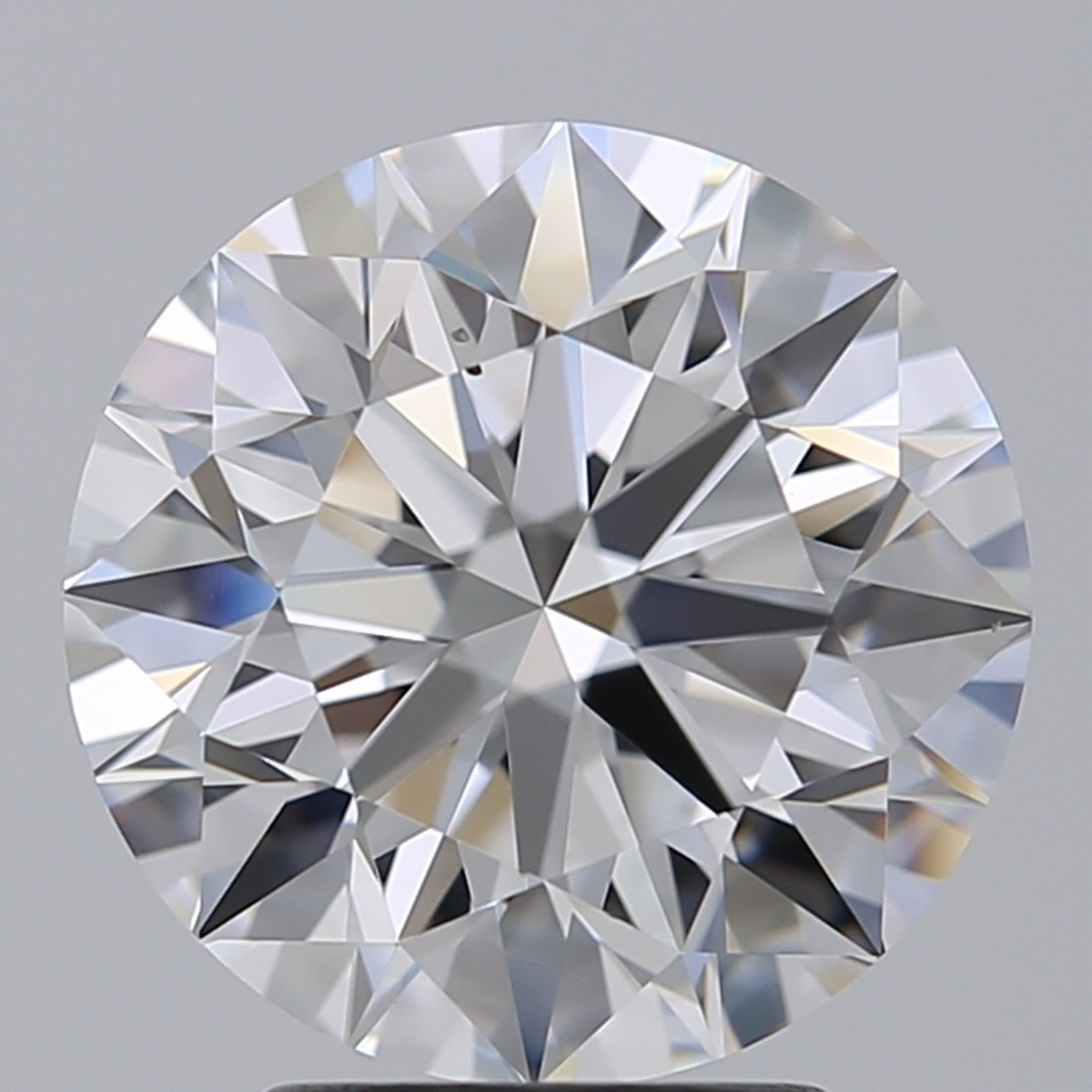 3.21 Carat Round Brilliant Diamond (D/VS2)