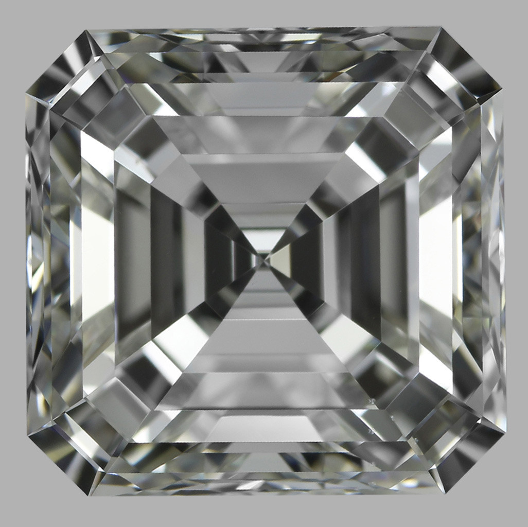 3.02 Carat Asscher Diamond (H/VS1)