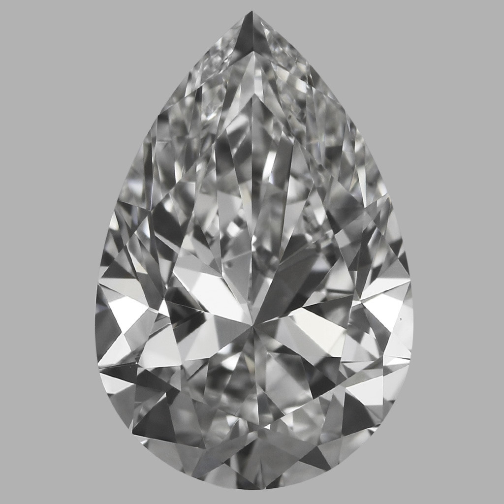 0.75 Carat Pear Diamond (F/IF)
