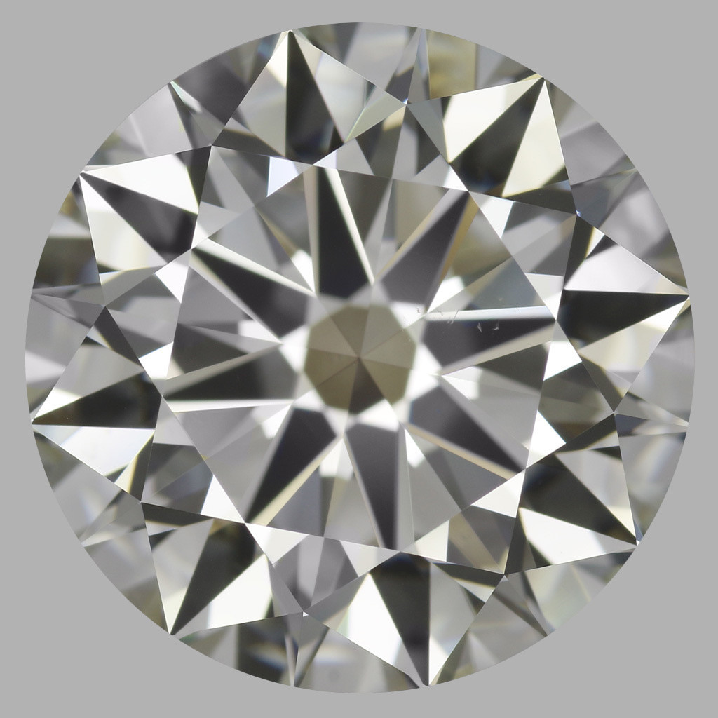 5.45 Carat Round Brilliant Diamond (J/VS2)