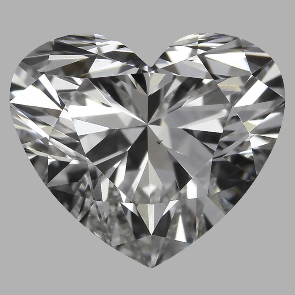 0.81 Carat Heart Diamond (F/VS2)
