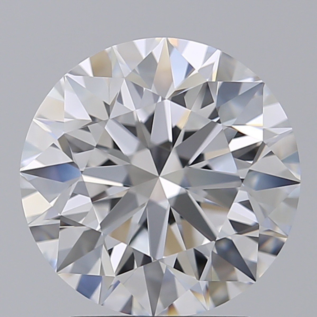 2.55 Carat Round Brilliant Diamond (D/FL)