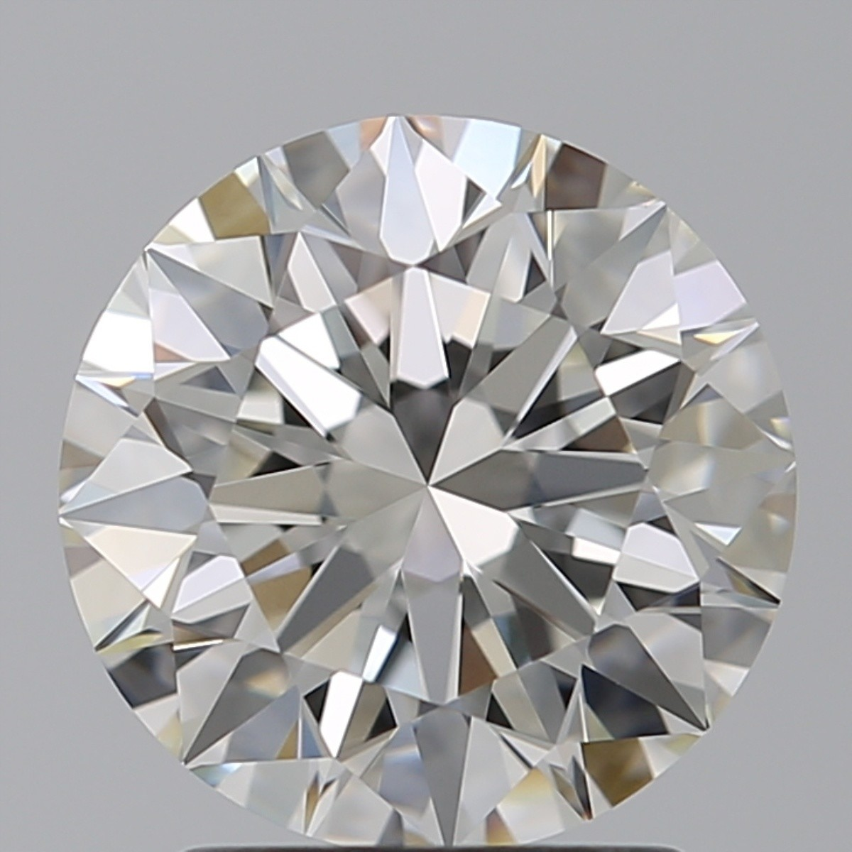 2.02 Carat Round Brilliant Diamond (H/VS1)