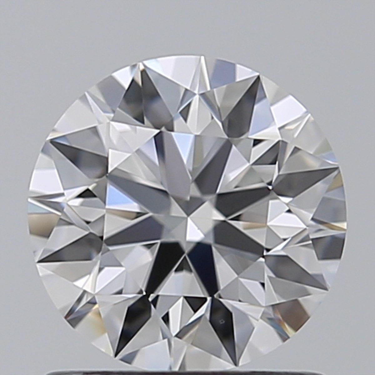 1.01 Carat Round Brilliant Diamond (D/VVS2)