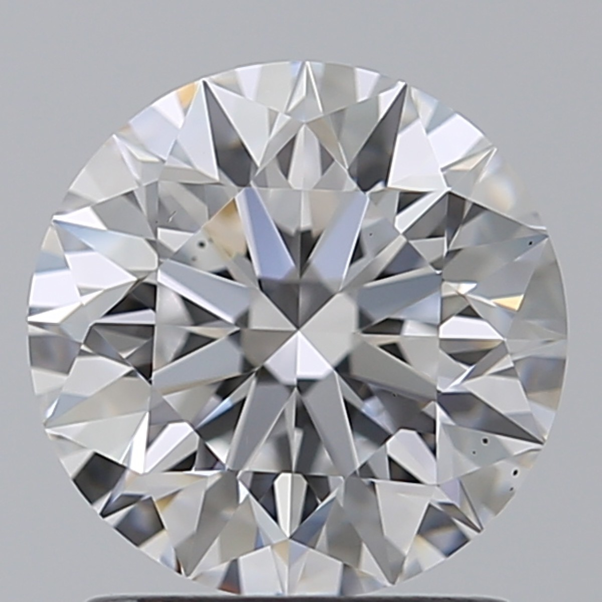 1.45 Carat Round Brilliant Diamond (D/VS2)