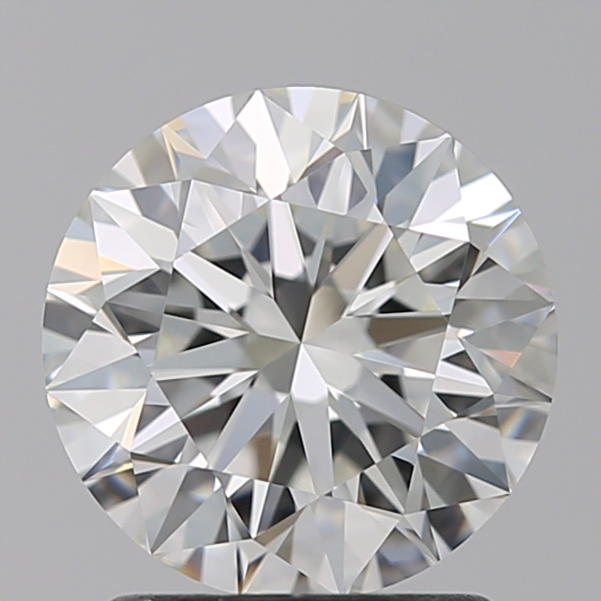 1.58 Carat Round Brilliant Diamond (H/IF)