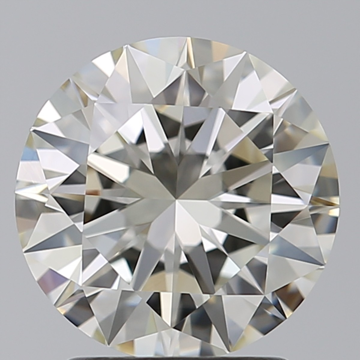 2.01 Carat Round Brilliant Diamond (J/IF)