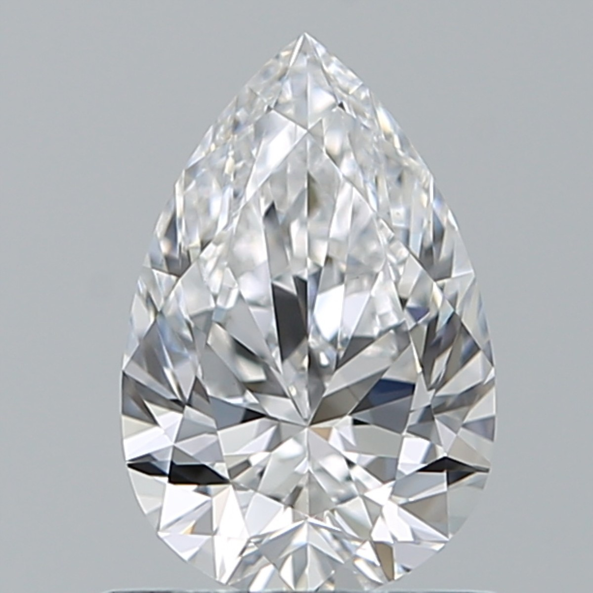 0.75 Carat Pear Diamond (D/VS1)