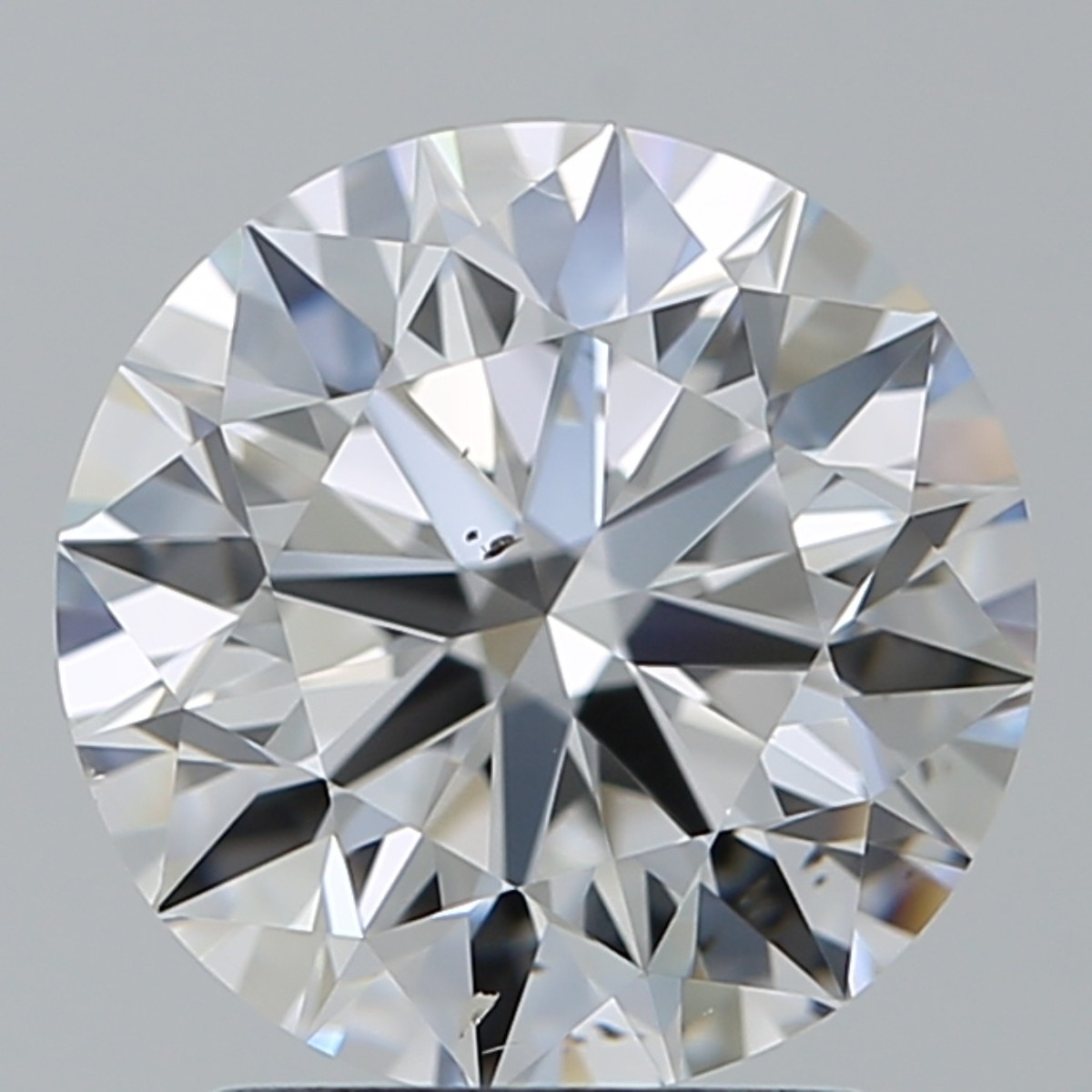 2.01 Carat Round Brilliant Diamond (E/SI1)
